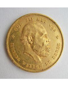 10 gulden goud, 1877
