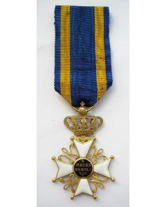 Onderscheiding Ridder Nederlandse Leeuw, uitvoering in goud, 19e eeuw