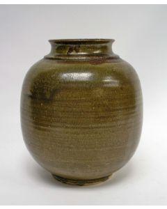 Gert de Rijk, aardewerk vaas, 1983