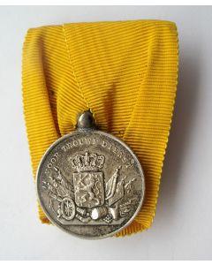 Medaille voor Langdurige Trouwe Dienst in zilver (periode Koningin Juliana)