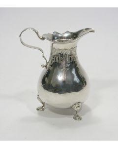 Zilveren roomkan, Anthony de Rooy, Amsterdam 1749