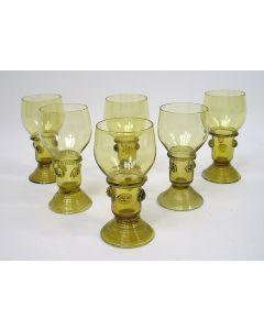 Glazen roemers, ca. 1800