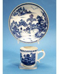 Chinese porseleinen kop en schotel, Qianlong periode
