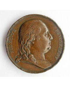 [Frankrijk] Penning Koning Lodewijk XVIII, Toewijding van de Nationale Garde [1816]