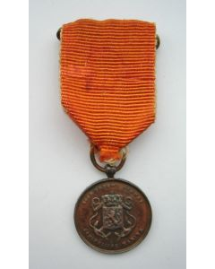 Medaille voor Langdurige Trouwe Dienst Koninklijke Marine in brons, kleine uitvoering.