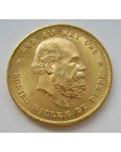 10 gulden goud, 1880