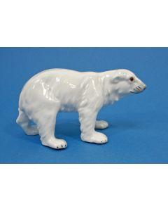 Porseleinen beeld, ijsbeer, Galluba & Hofmann, ca. 1930
