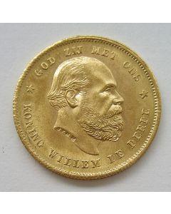 10 gulden goud, 1887