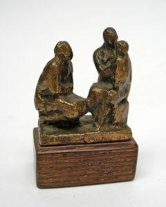 Han Wezelaar, bronzen sculptuurtje
