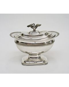 Zilveren tabakspot, Jan George Grebe, Rotterdam 1841