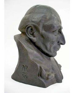 Bronzen beeld, 'Franciscus van Assisi', Adrianus Remiëns, 1924