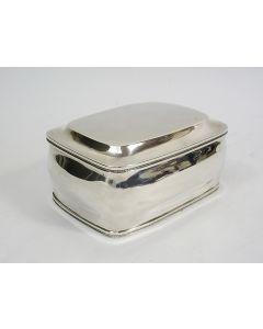 Zilveren koektrommel, Willem van Gastel, Breda 1824