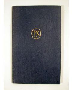 Pierre Kemp. An English alphabet, dichtbundel, 1961, gesigneerd