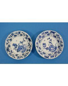 Stel Chinese porseleinen schotels, Kangxi periode