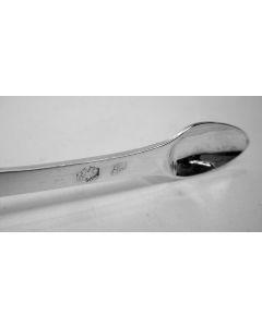 Zilveren roomkan met parelrand, 1908