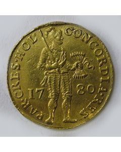 Holland, gouden dukaat 1780