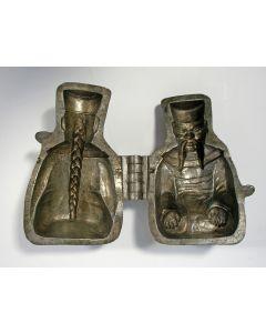 Tinnen marsepeinvorm, Chinees, 19e eeuw