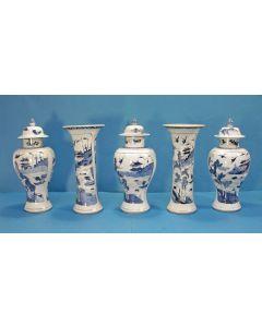 Chinees porseleinen kaststel, Qianlong periode