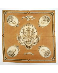 Herdenkingsdoek, 50 jaar Koninkrijk, 1913