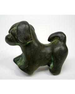 Just Andersen, bronzen mopshondje, ca. 1930