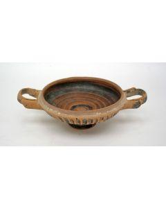 Griekse drinkschaal / kylix, 5e/4e eeuw voor Chr.