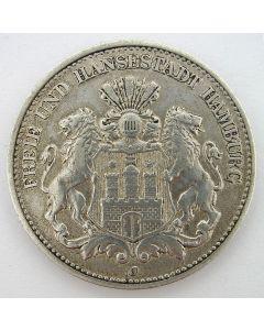 Duitsland, Hamburg, 2 mark 1906