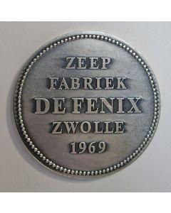 Penning, Zeepfabriek De Fenix, Zwolle, 1969