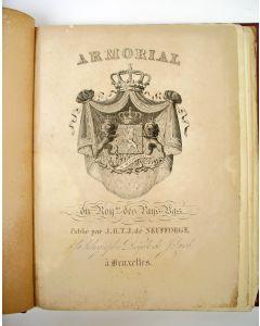 Wapenboek door J.H.T.J. de Neufforge, Armorial du Royaume des Pays-Bas, 1828
