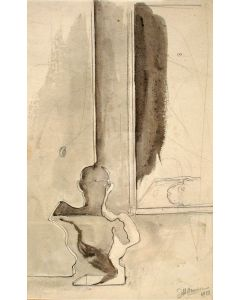 J.H. Moesman, tekening, 1933