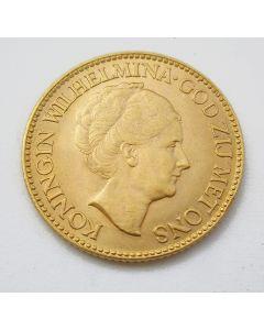 10 gulden goud, 1933