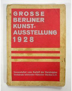 Tentoonstellingscatalogus 'Grosse Berliner Kunst-Ausstellung 1928'