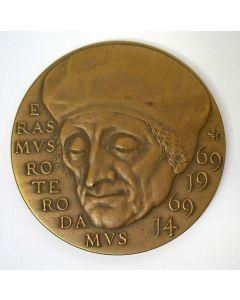 Penning, 500e geboortedag van Erasmus, 1969 [Joop Hekman]