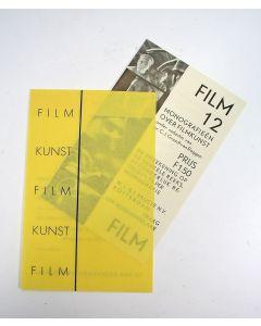 Piet Zwart, intekenbiljet voor de serie 'Monografieën over filmkunst, 1931