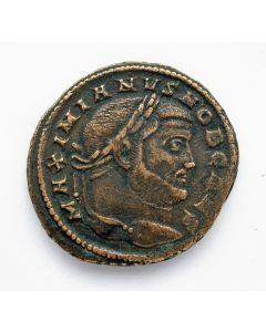 Romeinse munt, Keizer Galerius, follis, ca. 301 n. Chr.
