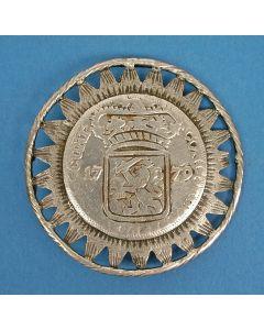 Zeeuws zilveren broekstuk, 19e eeuw