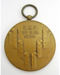 Penning, Nederlandsche Unie voor de Wandelsport, 1936 {Chris van der Hoef]