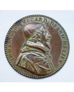 Plaquette, Kardinaal Richelieu