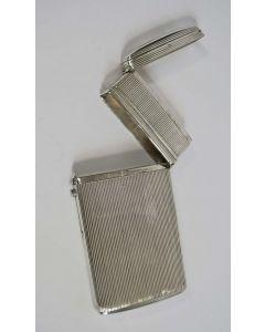 Zilveren sigarenkoker met compartimenten, Maastricht 1843