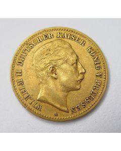 Duitsland (Pruissen),10 mark 1898