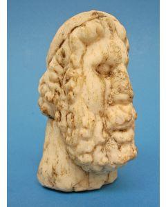 Griekse marmeren kop van een filosoof, 3e of 2e eeuw v. Chr.