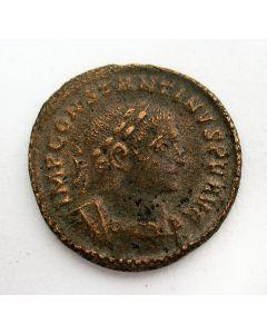 Romeinse munt, Keizer Constantijn de Grote, halve follis, ca. 320 n. Chr.