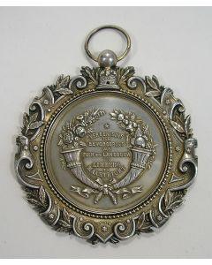 Zilveren prijsmedaille van de Vereeniging ter Bevordering van Tuin- en Landbouw in Limburg te Maastricht [1879]