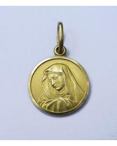 Gouden scapulier medaille, Moeder Gods