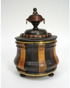 Houten tabakspot, Lodewijk XVI periode, eind 18e eeuw