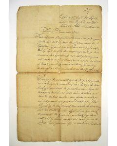 Handgeschreven document, extract van een raadsbesluit over de levering van vet aan de kaarsenmaakster Ida Nypels, Maastricht 1794