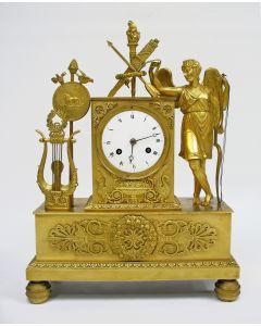 Bronzen pendule, ca. 1820