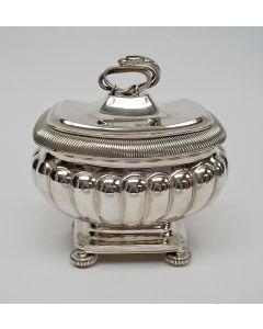 Zilveren tabakspot door Diederik Lodewijk Bennewitz, Amsterdam 1828