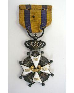 Onderscheiding Militaire Willemsorde (ex luitenant Hennequin)