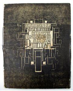 [Gerrit Rietveld], Mededeelingen der staatscommissie ingesteld bij K.B. van 19 maart 1914.