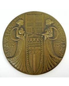 Penning, Eeuwfeest Spaarbank Rotterdam, 1918, [Chris van der Hoef]